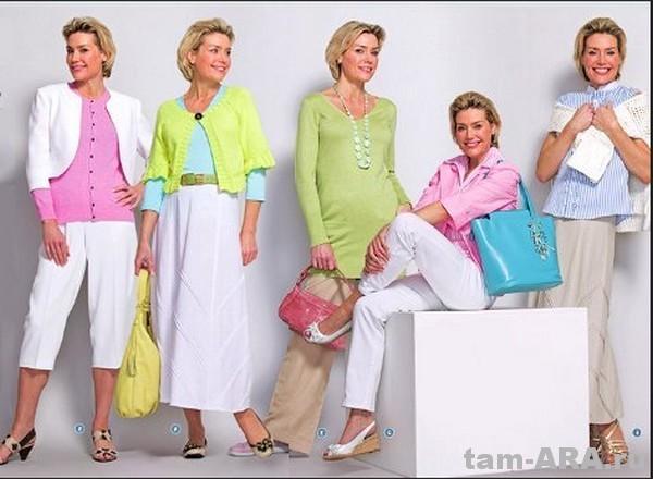 одежда для дам элегантного возраста