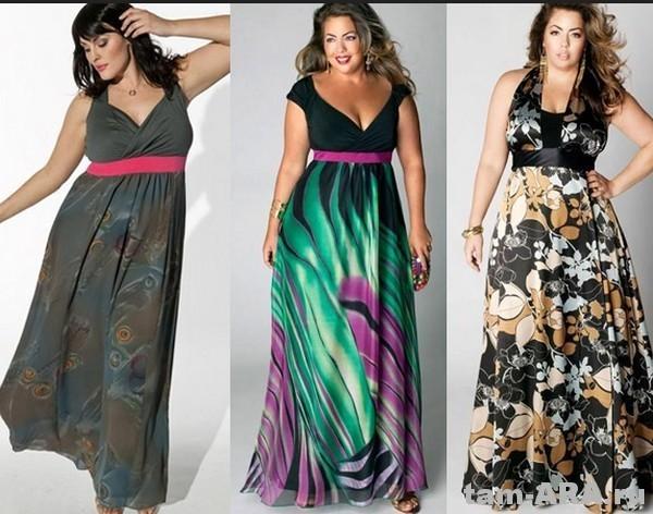 модные сарафаны для полных