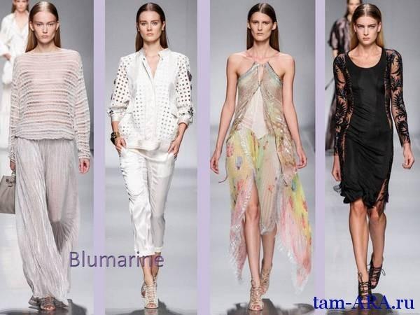 Blumarine на Миланской неделе моды