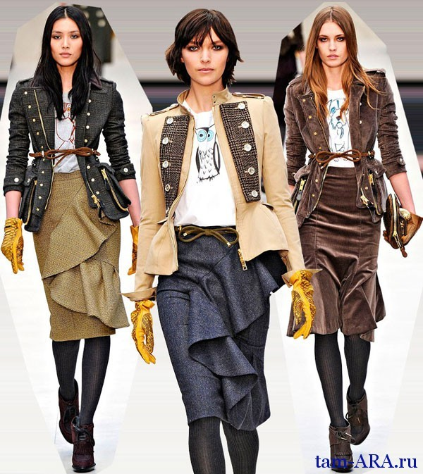 Модные жакеты осень-зима