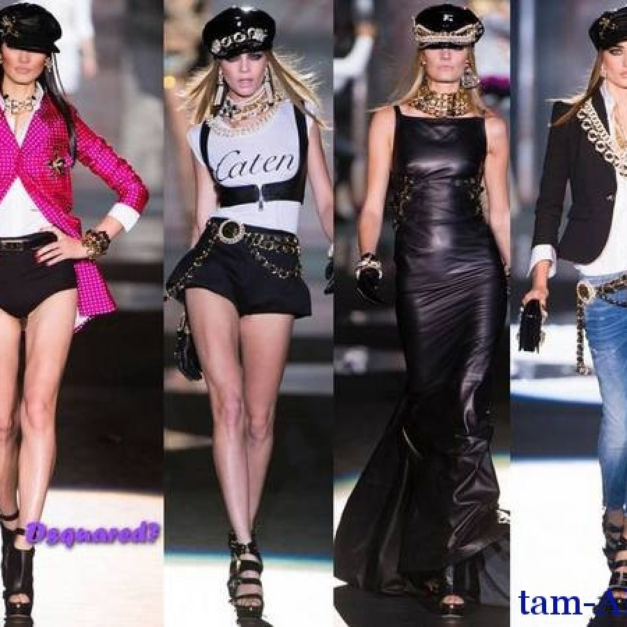 Dsquared2 - весенне-летний 2013 показ моды