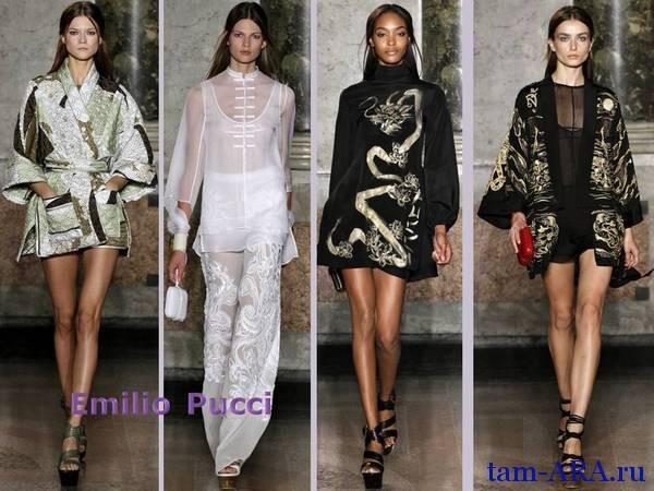 Emilio Pucci Милан  неделя моды весна-лето 2013