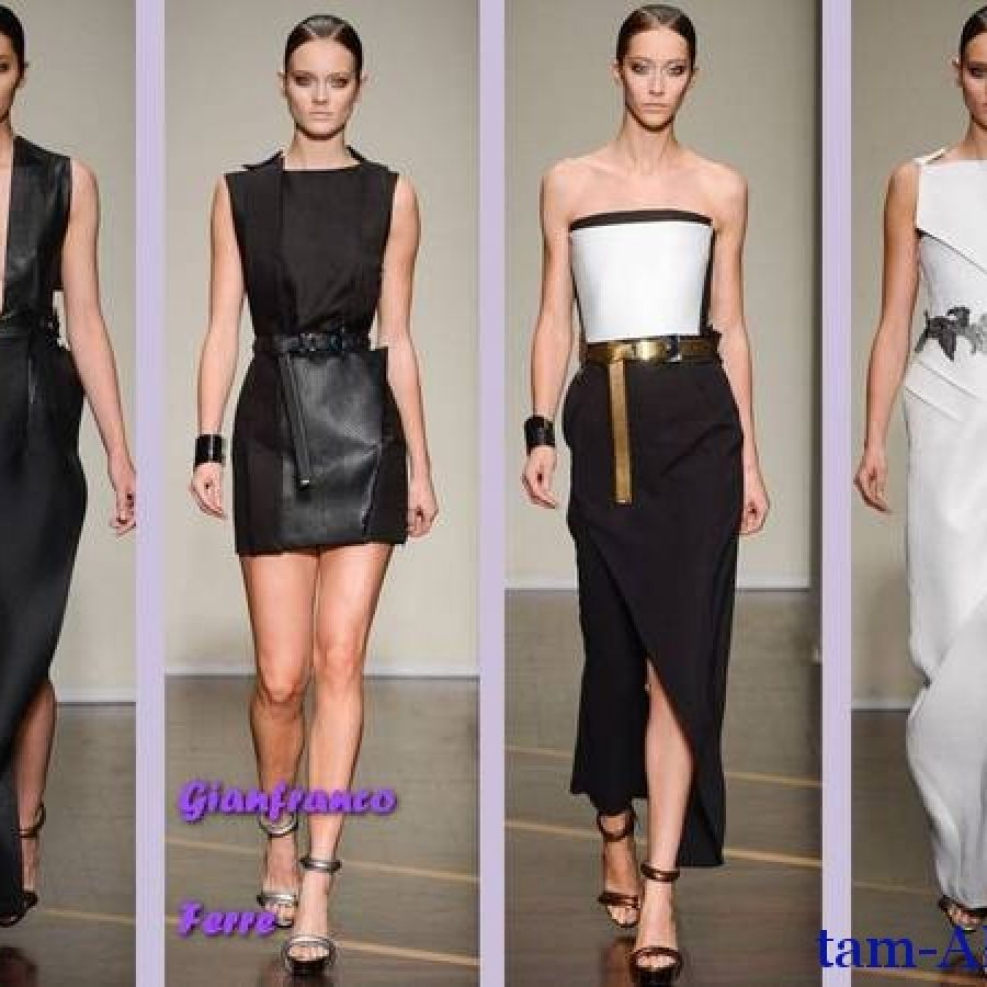 неделя моды в Милане Gianfranco Ferre коллекция весна-лето 2013