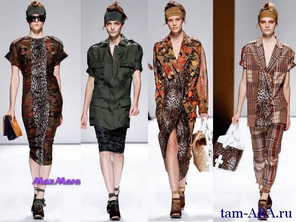 Весенне-летние коллекции с показов недели моды в Милане