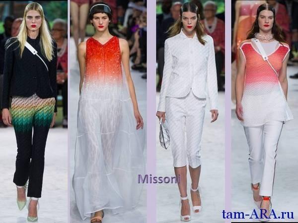 Неделя моды в Милане весна-лето 2013 Missoni