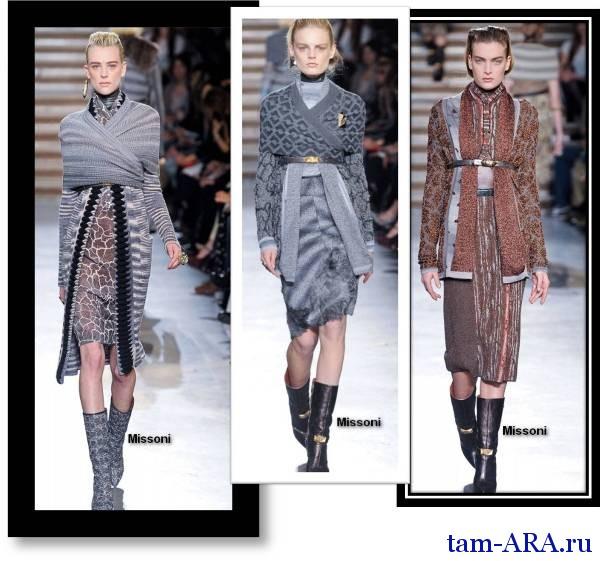 Модные кардиганы в коллекциях дизайнеров на сезон осень-зима