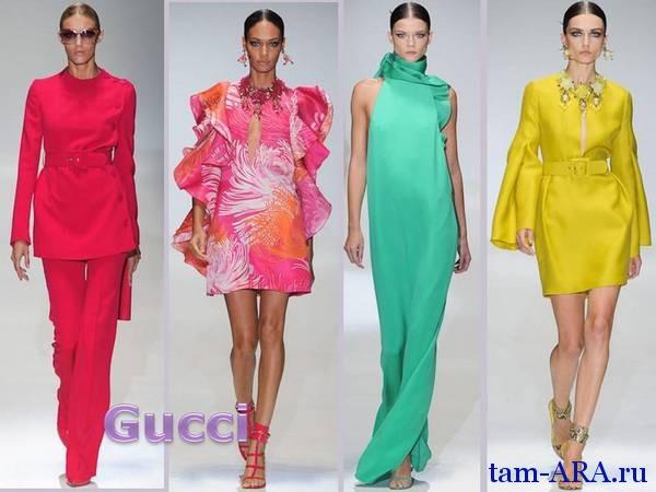 Gucci весенне-летняя коллекция 2013