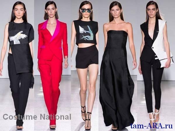 коллекция одежды весна-лето 2013 от Costume National