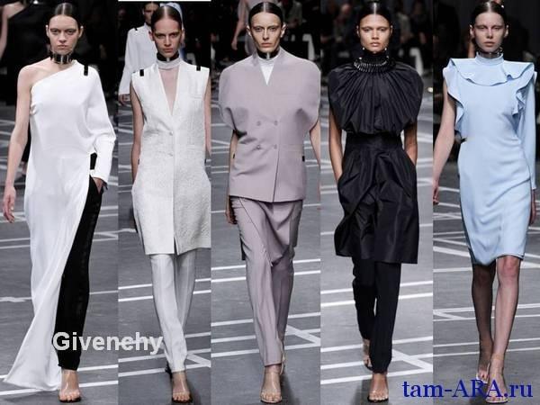 париж, неделя моды Givenchy новая коллекция весна-лето 2013