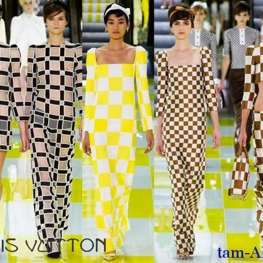 Показ коллекции модного дома Louis Vuitton весна-лето 2013