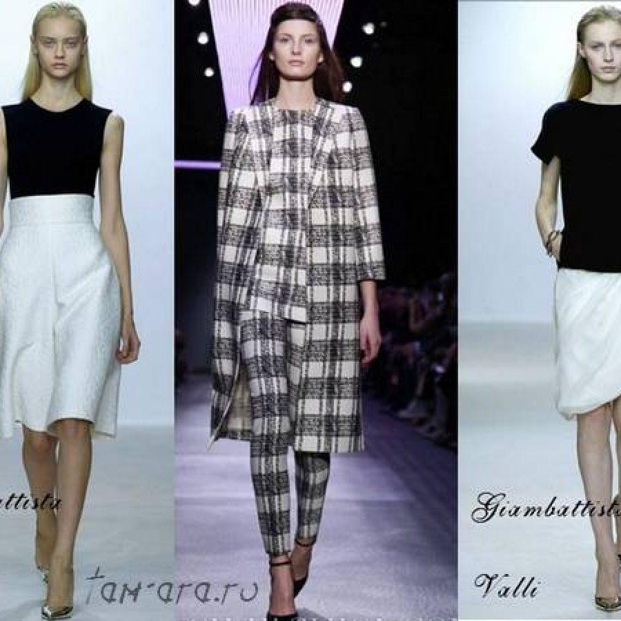 элегантность черного и белого в одежде