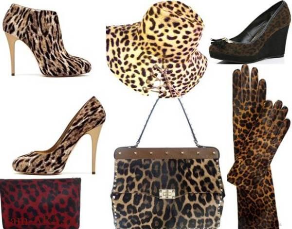 модный леопардовый принт