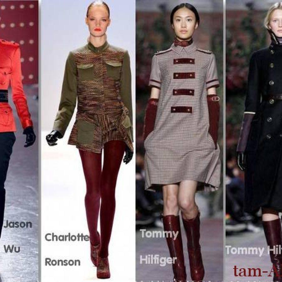 Всегда модный стиль милитари