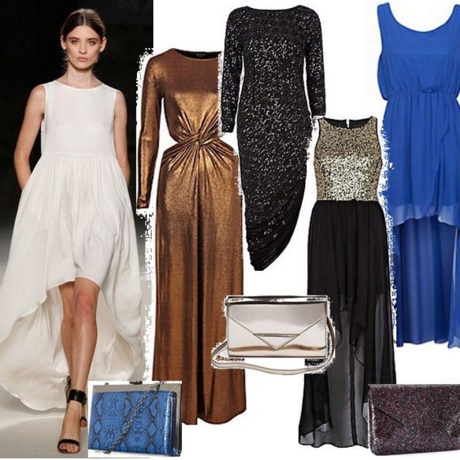 вечерние платья для Нового года