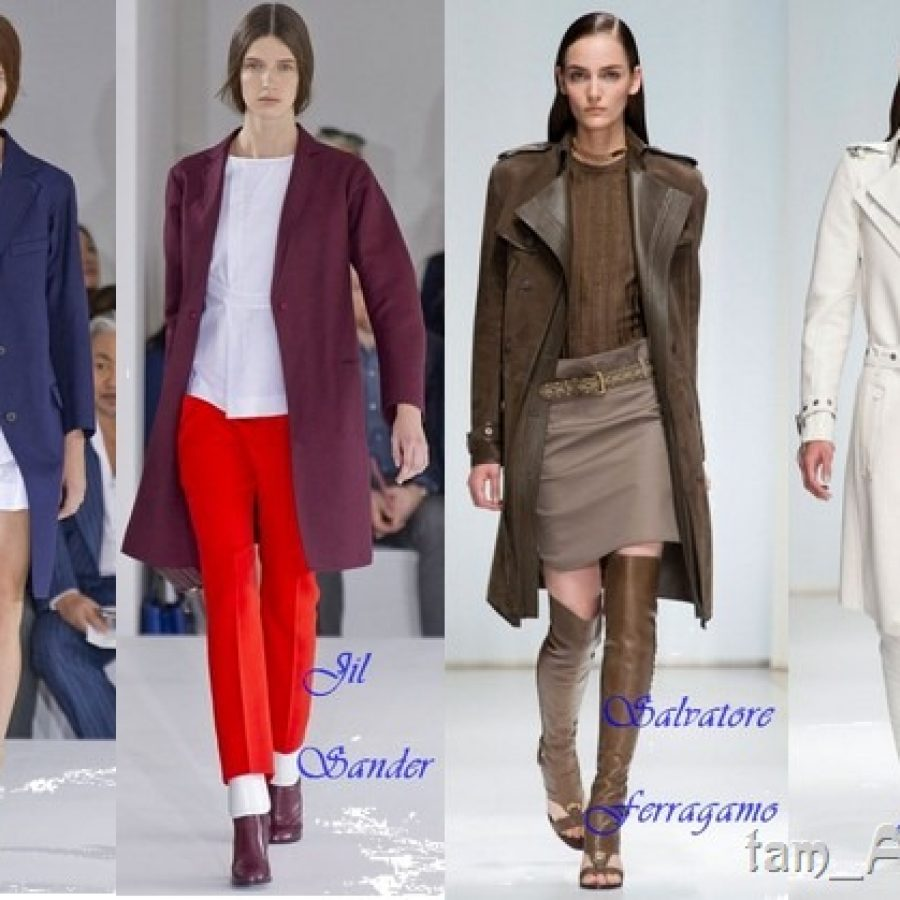 молодежные пальто весна 2013