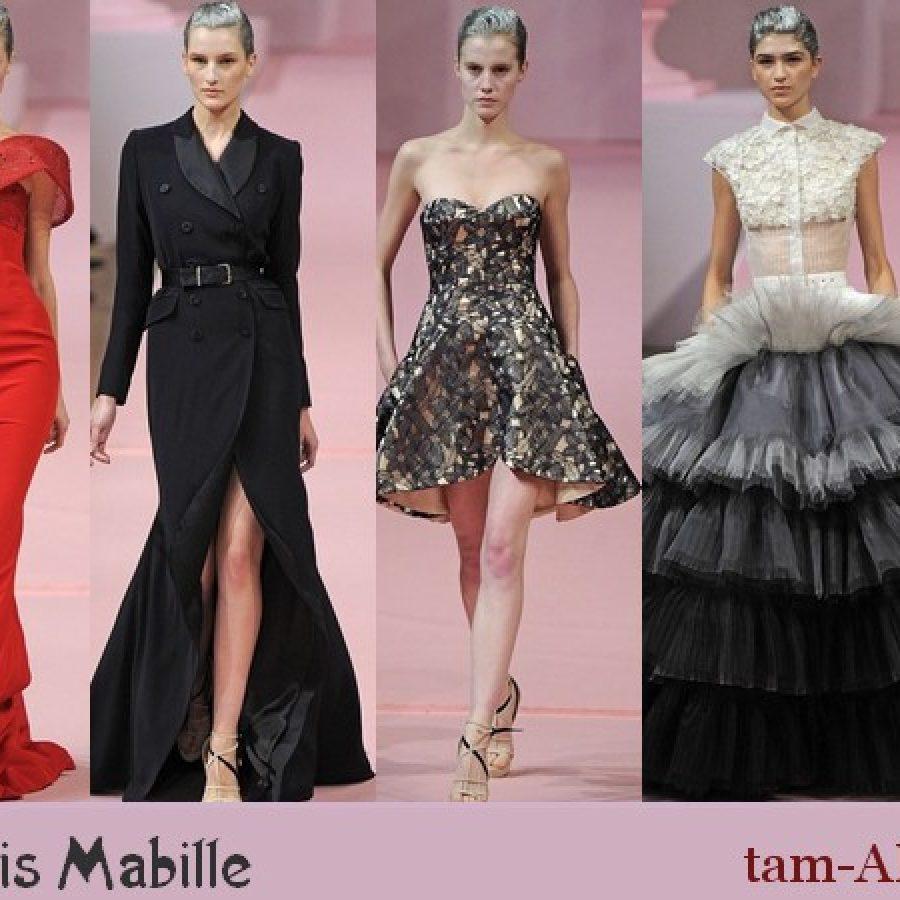 неделя моды в Париже Alexis Mabille весенне-летнияя коллекция 2013 года