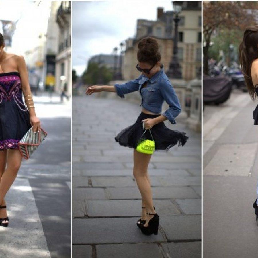 модный блогер стильная девушка Одри Лейтон Роджерс