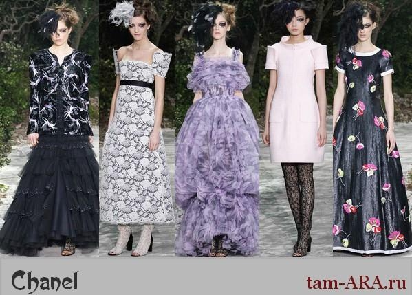 неделя моды в Париже  весенне-летняя коллекция 2013 года Chanel