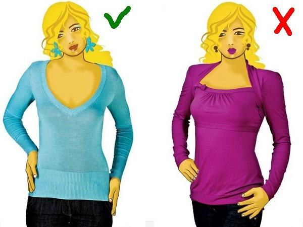 Коррекция фигуры с помощью одежды