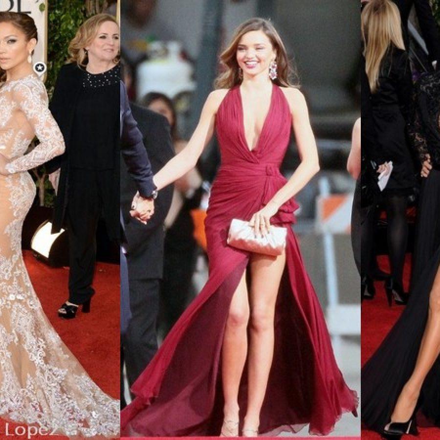 платья с красной дорожки Золотого Глобуса 2013