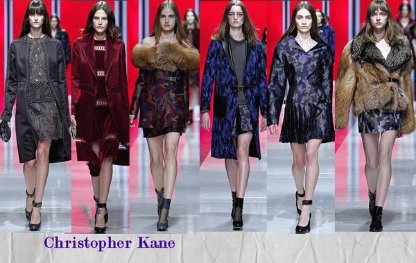 Неделя моды в Лондоне Christopher Kane
