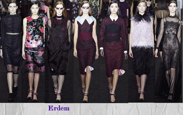 Erdem Неделя моды в Лондоне