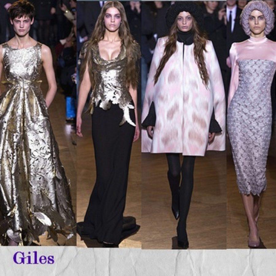 Giles Неделя моды в Лондоне