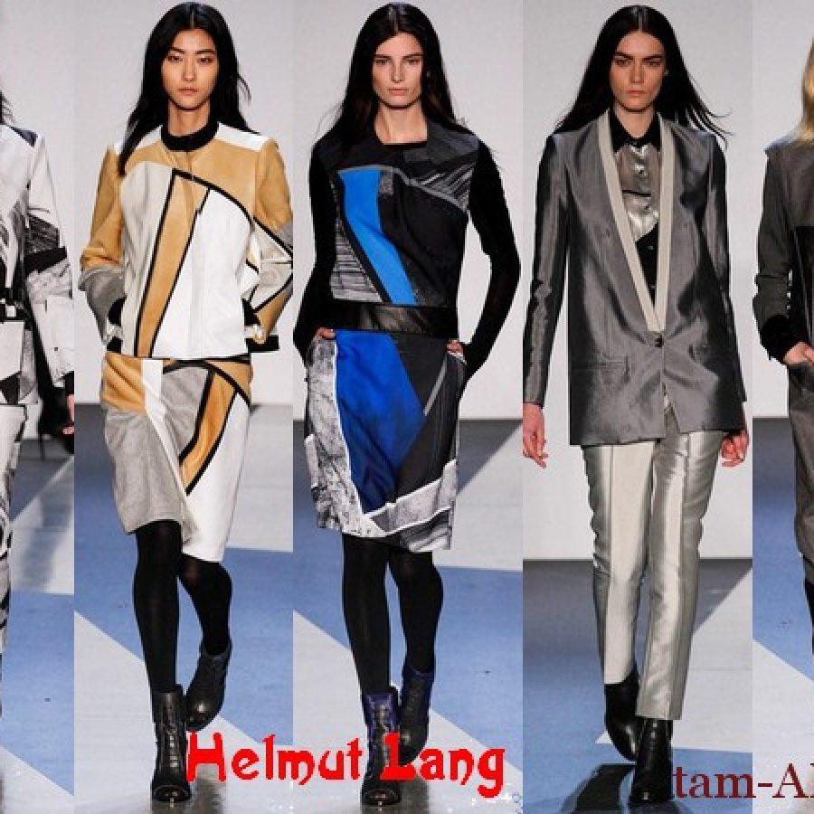 Коллекция одежды осень-зима 2013/14 Helmut Lang