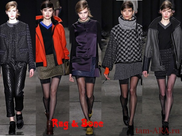 Rag & Bone неделя моды, осень-зима 2013/14