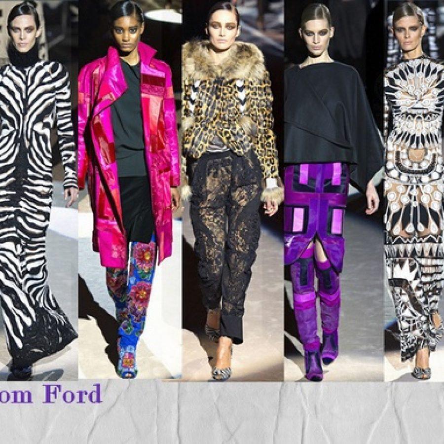 Tom Ford осень-зима 2013-14 Неделя моды в Лондоне
