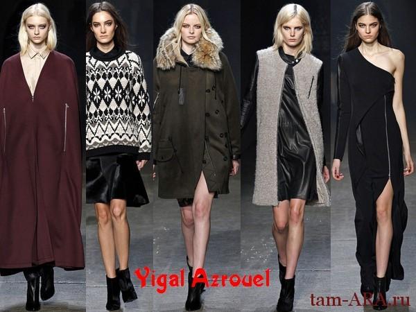 Тренды нью-йоркской недели моды, осень-зима