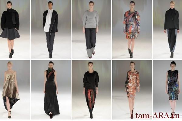 неделя  моды в Париже, Chalayan   коллекция сезона осень-зима 2013/14