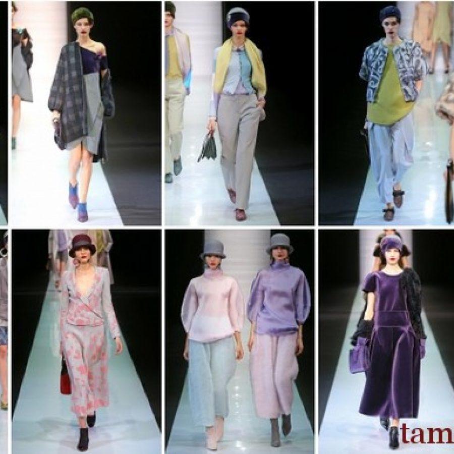 EMPORIO ARMANI показ коллекции на неделе моды в Милане