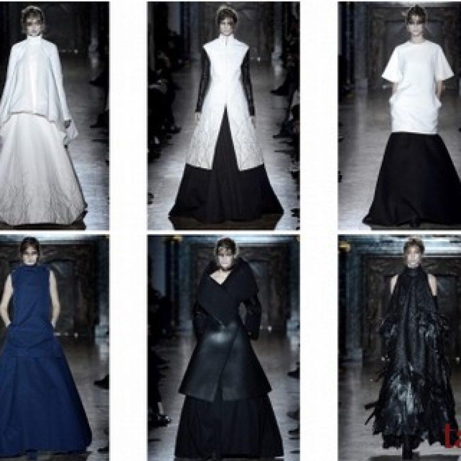 Gareth Pugh Неделя моды в Париже осень-зима 2013-2014