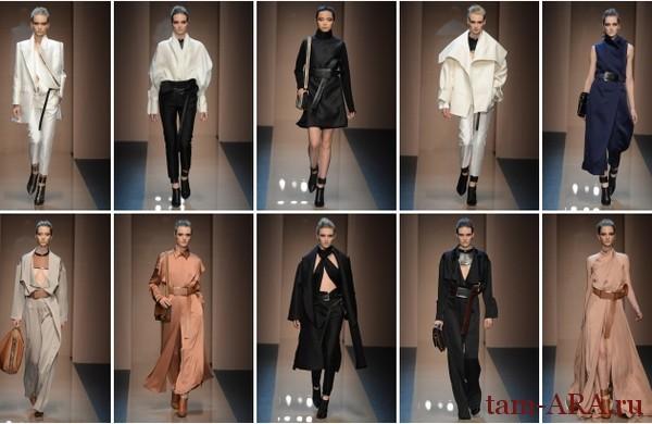 показ коллекции Ferre на неделе моды в Милане