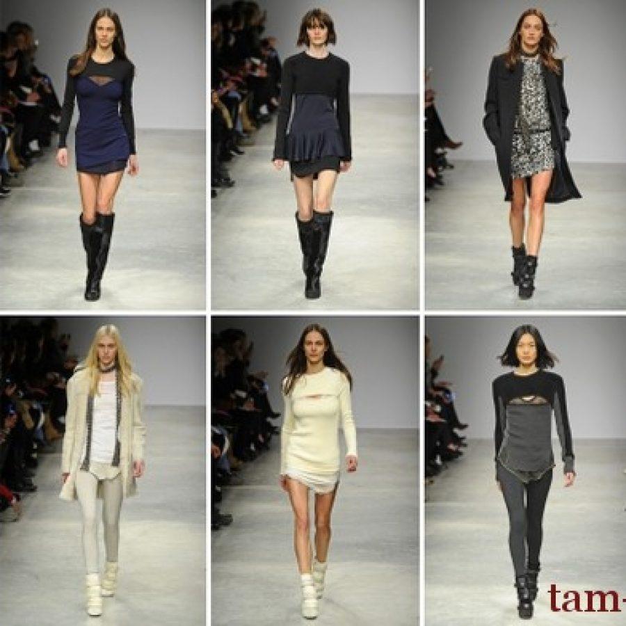 Isabel Marant неделя моды в Париже, коллекция сезона осень-зима 2013/14