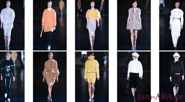 Mugler Неделя моды в Париже осень-зима 2013-2014