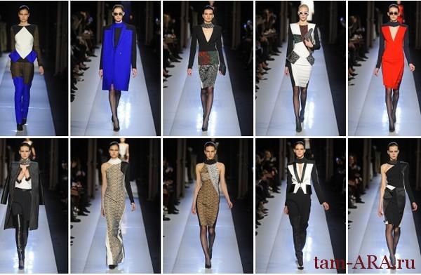 неделя  моды в Париже, коллекция сезона осень-зима 2013/14 Roland Mouret