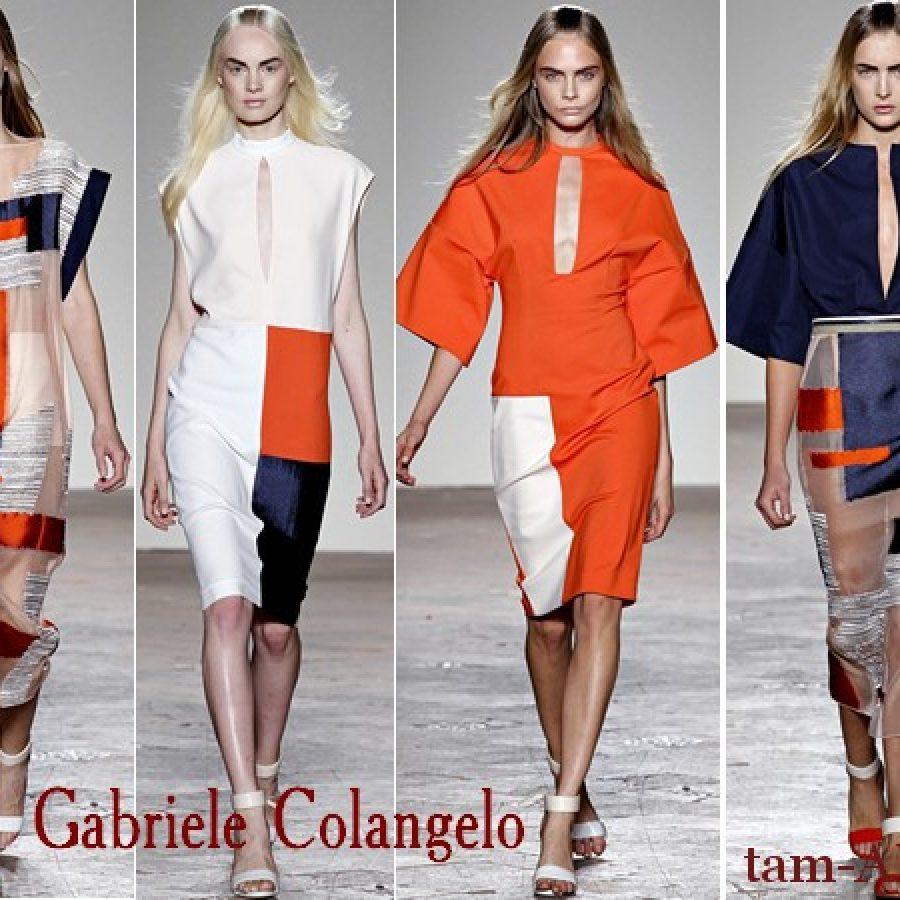 Gabriele Colangelo тенденции моды на лето2013