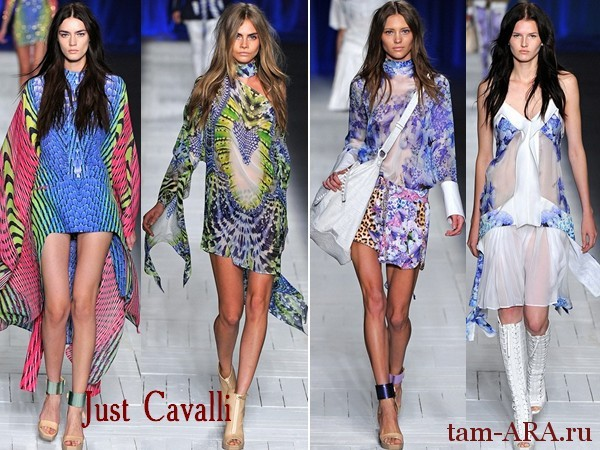 Just Cavalli весна-лето 2013