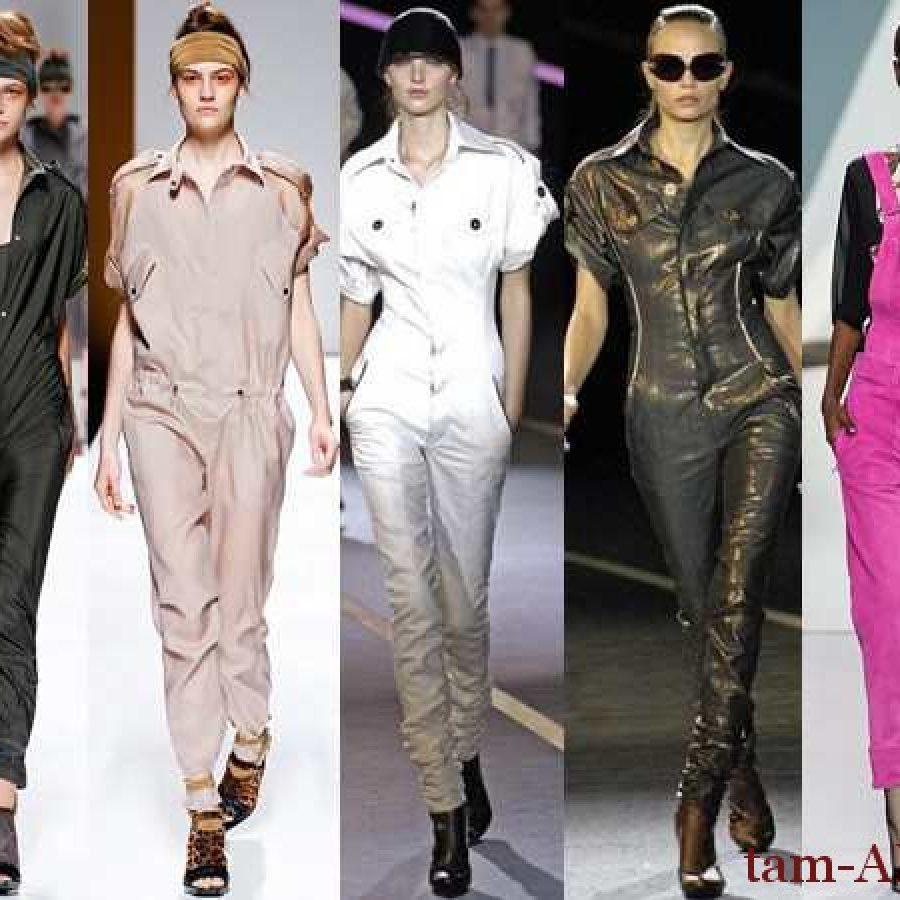 модные стильные комбинезоны для женщин