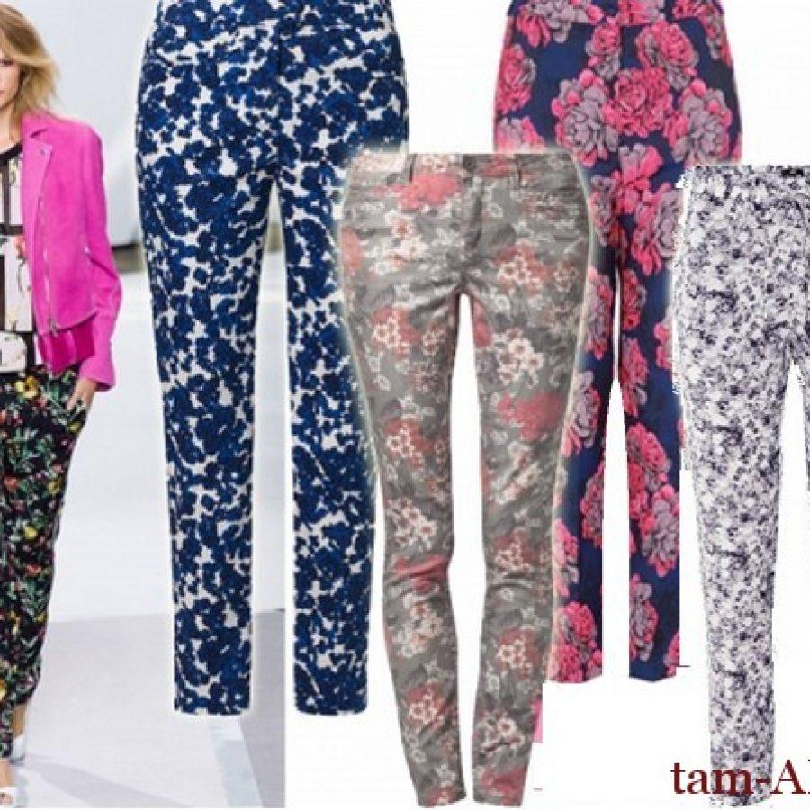 Модные расцветки и фактуры леггинсов
