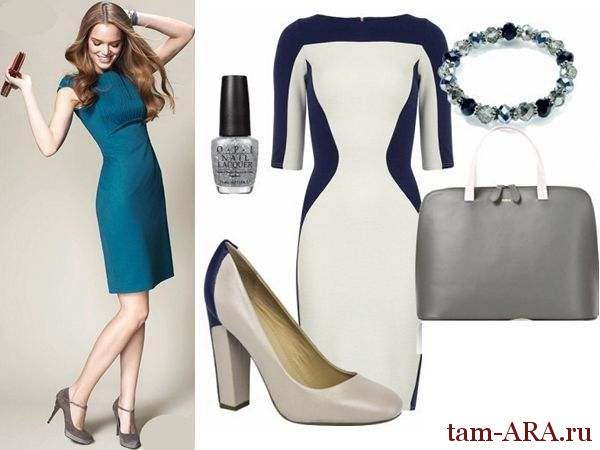 Модные офисные платья на летний сезон
