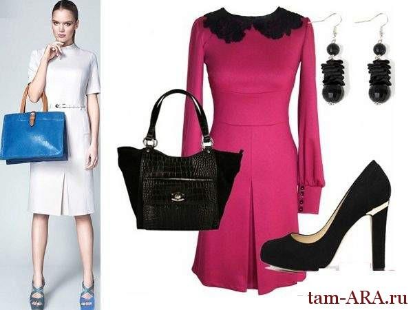 модные летние офисные платья