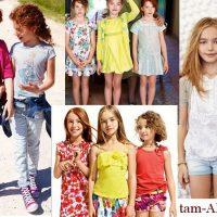 мода для девочек лето 2013