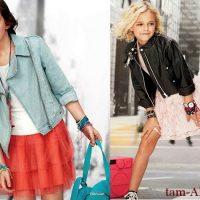 летняя мода для девочек