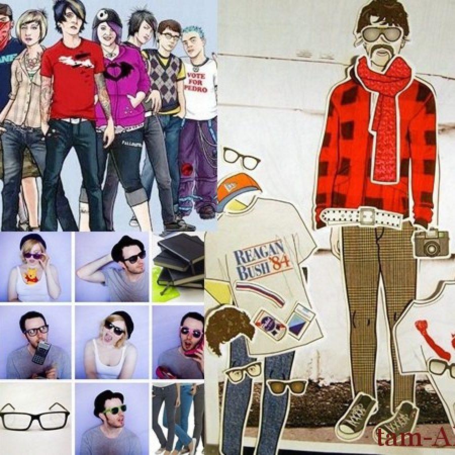 хипстер стили молодежной одежды