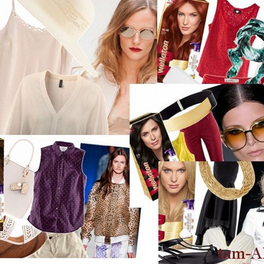 определение собственного цветотипа и выбор одежды