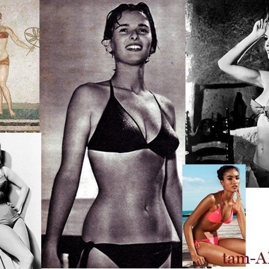 бикини история моды