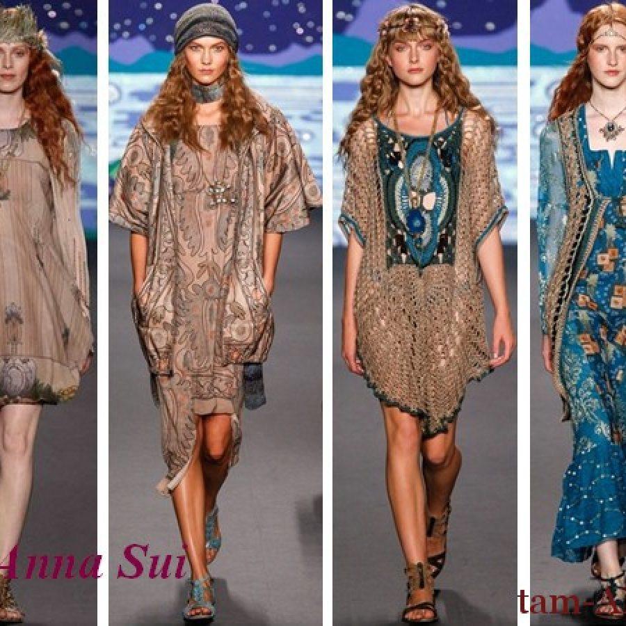 весна-лето 2013 коллекция Анна Сьюи